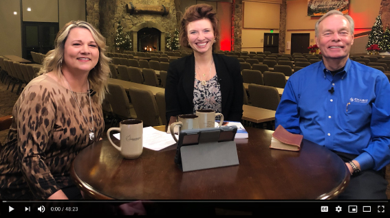 Andrew's Live Bible Study: Nichole Marbach and Andrew Wommack