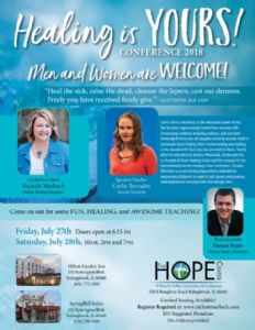 Healing is YOURS! Conference Registration